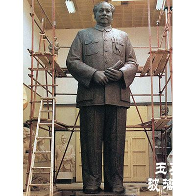 玻璃钢人物雕塑zx304