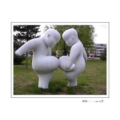 玻璃钢人物雕塑zx312