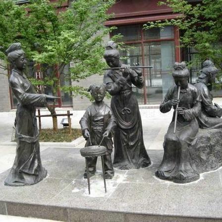 玻璃钢人物雕塑zx335