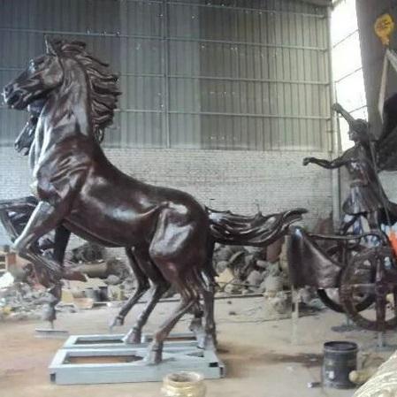 玻璃钢人物雕塑zx336