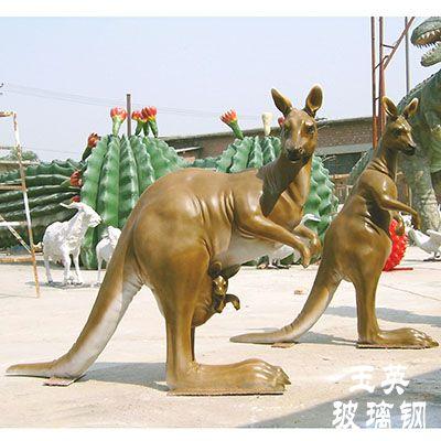 玻璃钢动物雕塑ZX103