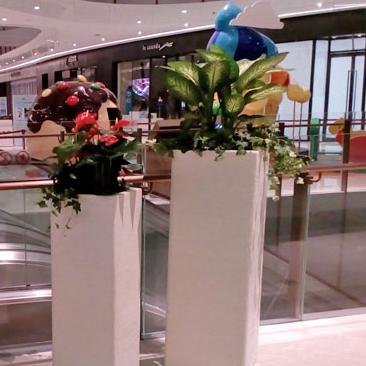 玻璃钢室内花盆HP001