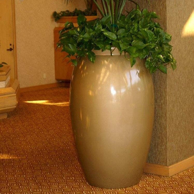 玻璃钢室内花盆HP007