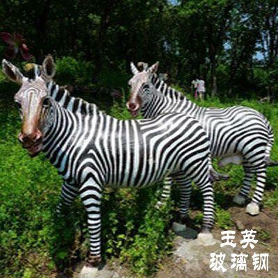 玻璃钢动物雕塑ZX111