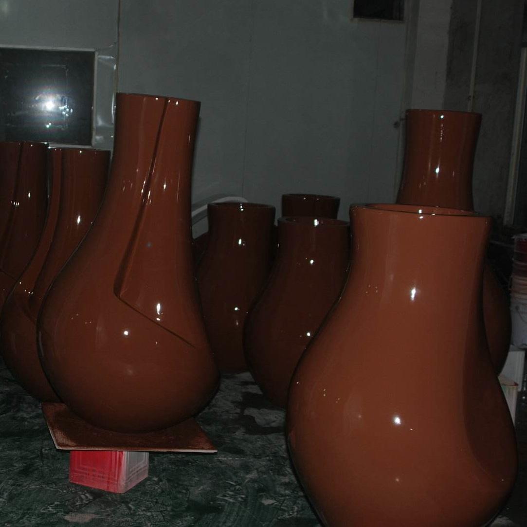 玻璃钢室内花盆HP030