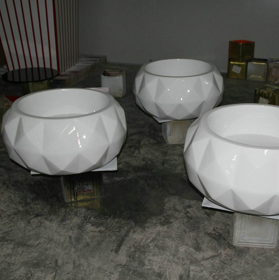玻璃钢室内花盆HP031