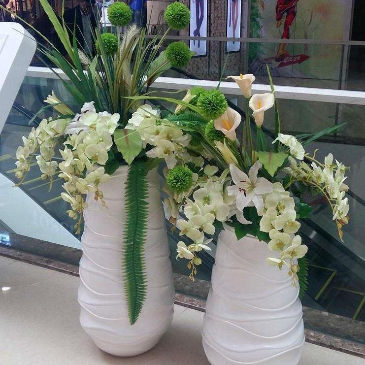 玻璃钢室内花盆HP035