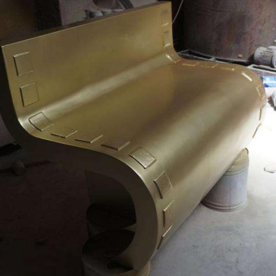 玻璃钢座椅zy018