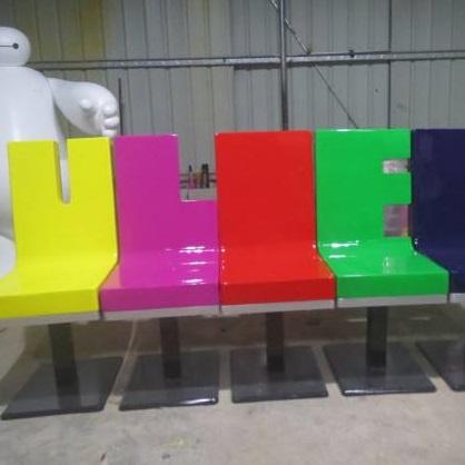 玻璃钢座椅zy034