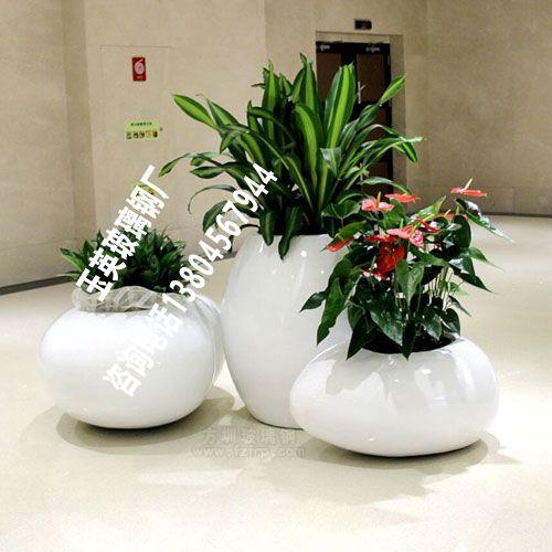 玻璃钢室内花盆HP037